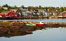 Lunenburg Nova Scotia Fotografia de Stock Royalty Free