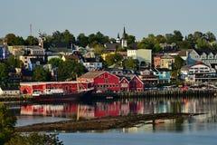 Lunenburg Nova Scotia Fotografering för Bildbyråer