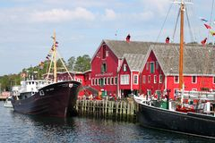Lunenburg, Nova Scotia Royalty Free Stock Images