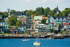 Lunenburg waterfront Stock Photo