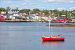 Lunenburg Waterfront Stock Image