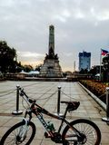 Luneta park stock photo