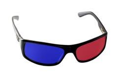 lunettes à trois dimensions Photo stock