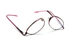 lunettes cassées Images stock