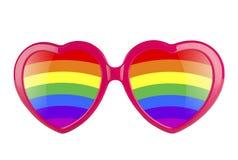 Lunettes de l'amour LGBT Photos libres de droits