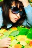 lunettes de mode Images libres de droits