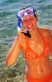 Lunettes de plongée photos stock