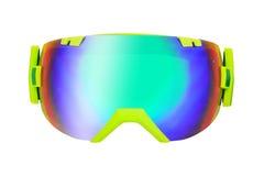 Lunettes de ski ou de surf des neiges Images libres de droits