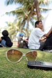 Lunettes de soleil Images libres de droits