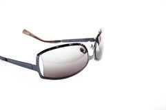 lunettes de soleil d'isolement blanches photos stock