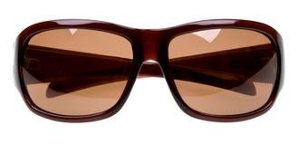 lunettes de soleil d'isolement blanches Image stock