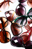 Lunettes de soleil de mode Images stock