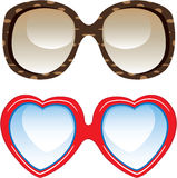 lunettes de soleil de mode Photographie stock libre de droits