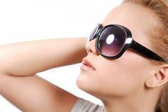 lunettes de soleil noires Image stock