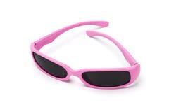 lunettes de soleil roses Photos stock