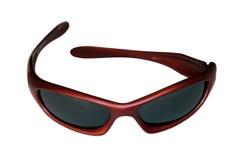 lunettes de soleil rouges Photos stock