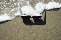 Lunettes en plage d'océan, plage d'océan, San Francisco Photo libre de droits
