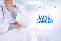 Lung Cancer Foto de Stock Royalty Free