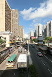 Lung Cheung Road at daytime Stock Image