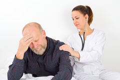 Lung examination Royalty Free Stock Images