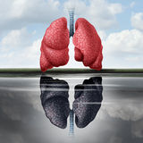 Lung Health Concept royalty-vrije illustratie