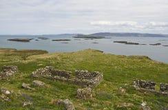 Lunga, Eilanden Treshnish Royalty-vrije Stock Foto