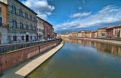 Lungarni, Pisa Stock Image
