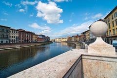 Lungarni, Pisa Royalty Free Stock Image