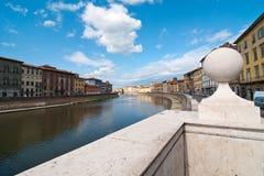 Lungarni, Pisa Stock Photo