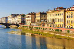 Lungarno Corsini - Florence Royalty Free Stock Photos