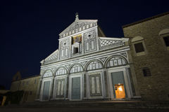 Lungarno delle Grazie, Florencja Fotografia Stock