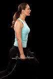 Lunge Exercise Stock Image