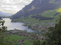 Lungerersee Royalty Free Stock Photo