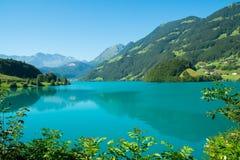 Lungern Lake Royalty Free Stock Photo