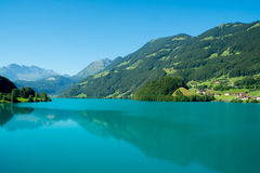 Lungern Lake Royalty Free Stock Image