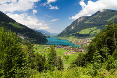 Lungern & Lungerersee Stock Images