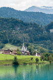 LUNGERN, SWITZERLAND/ EUROPE - SEPTEMBER 22:  View of the church Stock Photo
