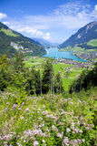 Lungern village, Switzerland Royalty Free Stock Photography