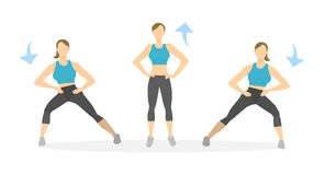 Lunges Stock Illustrations – 449 Lunges Stock ...