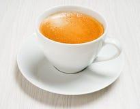 Lungo de café Photos stock