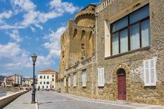 Lungo Di Santa Maria kobyli di Castellabate Salerno Obrazy Royalty Free