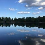 Lungo il fiume Mississippi Fotografia Stock Libera da Diritti