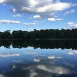 Lungo il fiume Mississippi Immagine Stock Libera da Diritti
