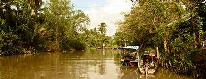 Lungo il Mekong, il Vietnam Fotografia Stock Libera da Diritti