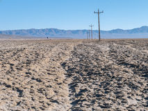 Lungo la strada più sola in America Fotografia Stock Libera da Diritti