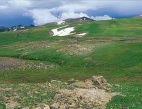 Lungo la traccia di Colorado, San Juan Range, Colorado sudoccidentale Fotografia Stock