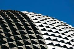 Lungomare del dettaglio del tetto sotto il chiaro cielo Fotografie Stock Libere da Diritti