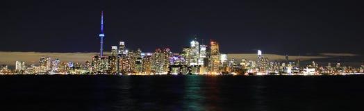 Lungomare della città di Toronto Fotografia Stock Libera da Diritti