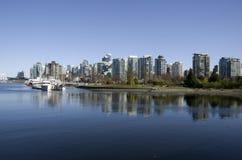 Lungomare della città di Vancouver Immagini Stock Libere da Diritti
