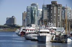 Lungomare della città di Vancouver Fotografie Stock